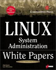 Cover of: Linux System Administration White Papers