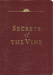 Cover of: Secrets of the Vine (Leather Edition)