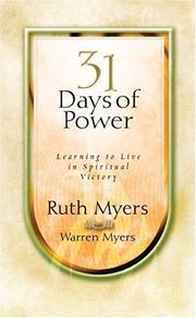 Cover of: Thirty-One Days of Power
