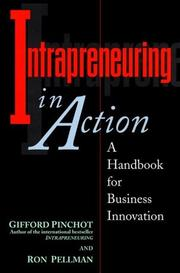 Cover of: Intrapreneuring in action