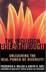 Cover of: The Inclusion Breakthrough