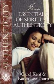 Cover of: Six Essentials of Spiritual Authenticity