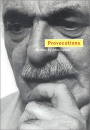 Cover of: Provocations