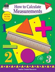 Cover of: How to Calculate Measurements, Grades 1-3