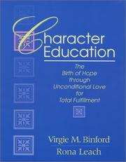 Cover of: Character Education