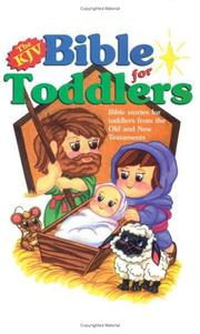 Cover of: The KJV Bible for Toddlers