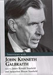 Cover of: Interviews With John Kenneth Galbraith (Conversations With Public Intellectuals Series)