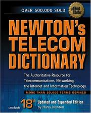 Cover of: Newton's Telecom Dictionary