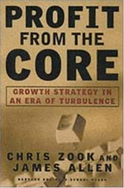 Cover of: Profit From the Core