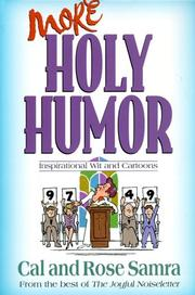 Cover of: More Holy Humor (The Holy Humor Series)