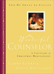 Cover of: Wonderful Counselor