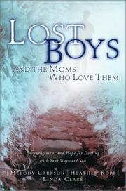 Cover of: Lost boys and the moms who love them
