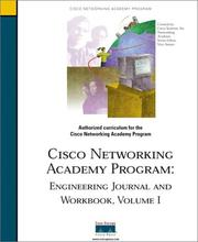 Cover of: Engineering Journal and Workbook, Volume I (Cisco Networking Academy)