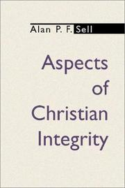 Cover of: Aspects of Christian Integrity