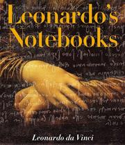 Cover of: Leonardo's notebooks