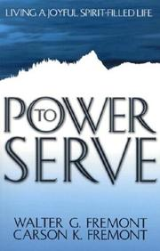 Cover of: Power to Serve