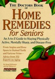 Cover of: The Doctor's Book of Home Remedies for Seniors
