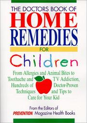 Cover of: The Doctors Book of Home Remedies for Children