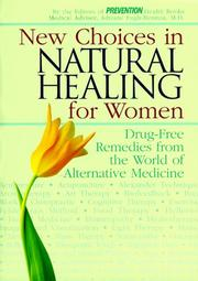 Cover of: New Choices in Natural Healing for Women