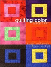 Cover of: Quilting and Color Made Easy