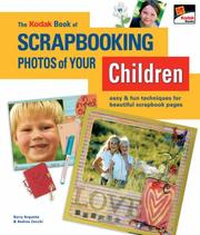 Cover of: The KODAK Book of Scrapbooking Photos of Your Children