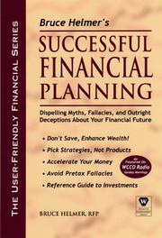 Cover of: Bruce Helmer's Successful Financial Planning