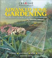 Cover of: Advanced Home Gardening