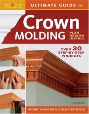 Cover of: Ultimate Guide to Crown Molding