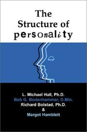 Cover of: The Structure of Personality