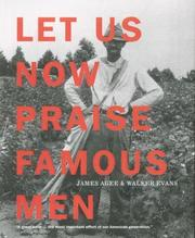 Cover of: Let Us Now Praise Famous Men