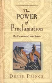 Cover of: The Power of Proclamation (Victorious Living)