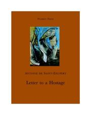 Cover of: Letter to a hostage