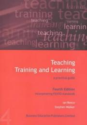 Cover of: Teaching, Training and Learning