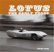 Cover of: Lotus the Early Years