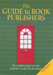 Cover of: The Guide to Book Publishers 2000