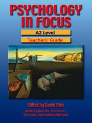 Cover of: Psychology in Focus