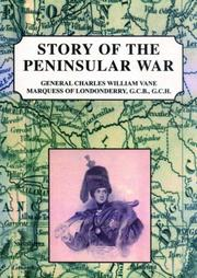 Cover of: Story of the Peninsular war