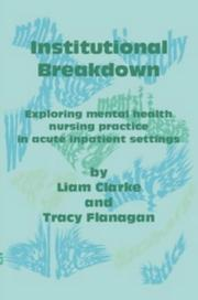 Cover of: Institutional Breakdown