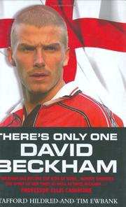 Cover of: There's Only One David Beckham