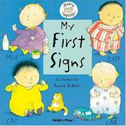 Cover of: My First Signs (Sign & Sing-along)