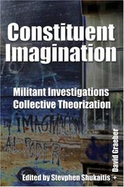 Cover of: Constituent Imagination
