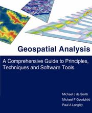 Cover of: Geospatial Analysis
