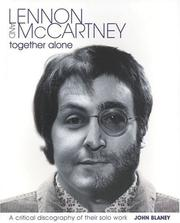 Cover of: Lennon and McCartney - Together Alone