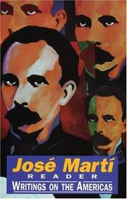Cover of: José Martí reader: writings on the Americas