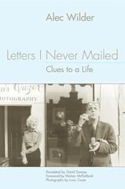 Cover of: Letters I never mailed