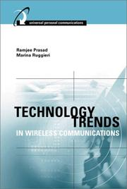Cover of: Technology Trends in Wireless Communications