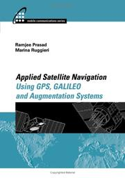 Cover of: Applied Satellite Navigation Using GPS, GALILEO, and Augmentation Systems