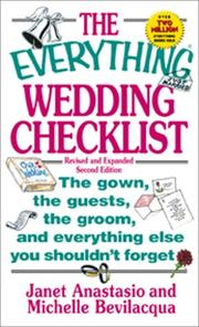 Cover of: The Everything Wedding Checklist