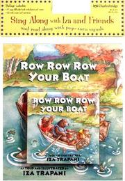 Cover of: Row Row Row Your Boat (Sing Along with Iza and Friends and Read Along with Page-Tur)