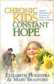 Cover of: Chronic Kids, Constant Hope